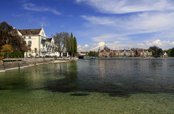 Konstanz on the Bodensee Royalty Free Stock Photos