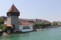 Konstanz city, Germany, year 2013 Royalty Free Stock Images