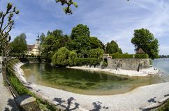 Konstanz City at Lake Constance Stock Images