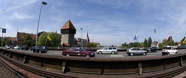 Konstanz City at Lake Constance Stock Photos