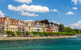 Konstanz embankment, Germany, Baden-Wurttemberg Royalty Free Stock Image