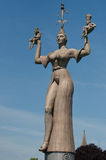 Konstanz, Germany: Imperia Statue. Imperia Statue in Konstanz harbor entry. Lake Bodensee, Germany Stock Photography