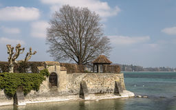 Konstanz, Germany: Rhine river estuary Royalty Free Stock Photography