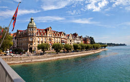 Konstanz, Lake Constance (Bodensee) Royalty Free Stock Images