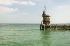Konstanz, Niemcy: Latarnia morska obrazy stock
