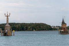 Konstanz port, Niemcy zdjęcia royalty free