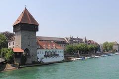 Konstanz stad, Tyskland, år 2013 Royaltyfria Bilder