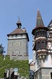 Konstanz stad, Tyskland, år 2013 Arkivbild