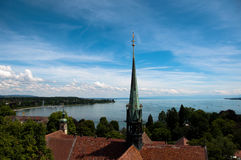 Konstanz - View at Lake Constance Royalty Free Stock Photos