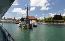 Konstanze Bodensee Стоковая Фотография RF