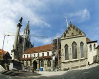 Konstanzer Münster in Münsterplatz Stock Image