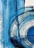 Konstbakground målad bakgrundshand Fragment av konstverk arkivfoto
