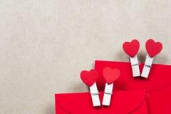 Konstbakgrund av Valentine Day, tappningfilterbild Royaltyfria Bilder