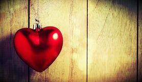 Konstbakgrund av Valentine Day, tappningfilterbild Royaltyfri Fotografi