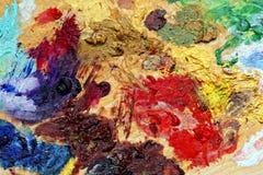 konstbakgrundsfärg Royaltyfri Fotografi