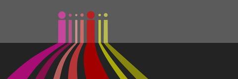 konstbakgrundsfärg vektor illustrationer