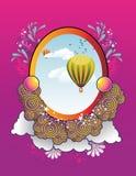 konstballongillustration royaltyfri illustrationer