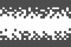 Konstbaner med stället och utrymme för din text Stock Illustrationer
