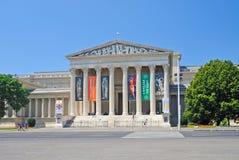 konstbudapest fint museum Arkivbild