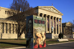 konstbudapest fint museum Arkivbilder