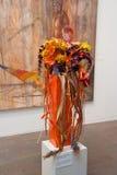 konstbukettutställning 2012 till Royaltyfri Fotografi