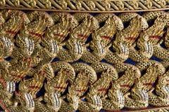 konstcarvings bildar thai trä Arkivbild