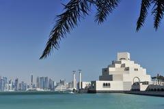 konstdoha islamiskt museum qatar Fotografering för Bildbyråer