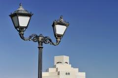 konstdoha islamiskt museum qatar Arkivbilder