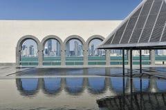 konstdoha islamiskt museum qatar Royaltyfri Fotografi