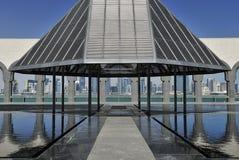 konstdoha islamiskt museum qatar Royaltyfria Bilder