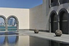 konstdoha islamiskt museum qatar Royaltyfri Bild