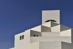 konstdoha islamiskt museum qatar Royaltyfria Foton