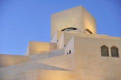 konstdoha islamiskt museum qatar Arkivfoton