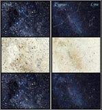 Konstellationen des springenden Punkts, Cygnuss (der Schwan) und Lyra Lizenzfreies Stockfoto