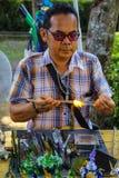 Konsten av att blåsa exponeringsglas med en variation av djur fotografering för bildbyråer