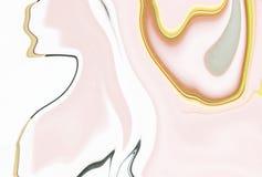 Konsten av lyx och stil royaltyfri illustrationer