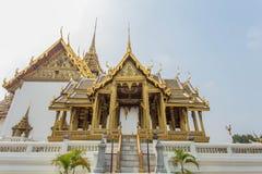 Konsten i Wat Phra Kaew Arkivfoto