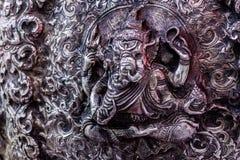 Konsten och modellen av att snida bestick, Thailand arkivfoto