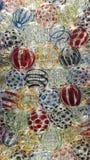 Konster av den färgrika glass bollen arkivbild