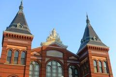 Konster och branscher som bygger i Washington DC, USA Arkivbilder