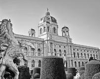 Konster och historiemuseum i Wien, Österrike Arkivbilder
