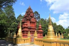Konsterna av den härliga templet Arkivbild