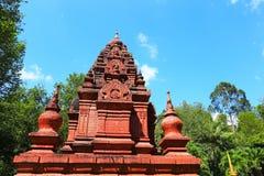 Konsterna av den härliga templet Arkivbilder