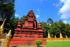 Konsterna av den härliga templet Arkivfoto