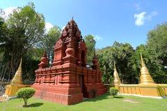 Konsterna av den härliga templet Royaltyfria Bilder