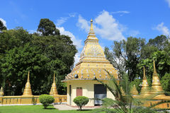 Konsterna av den härliga templet Arkivfoton