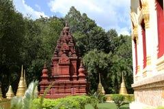 Konsterna av den härliga templet Royaltyfri Bild