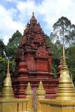 Konsterna av den härliga templet Royaltyfri Foto