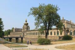 Konstgalleri i den Dresden Tyskland fotografering för bildbyråer