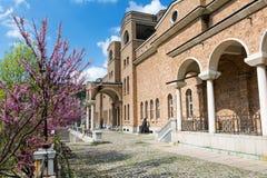 Konstgalleri i Veliko Tarnovo, Bulgarien Arkivbilder